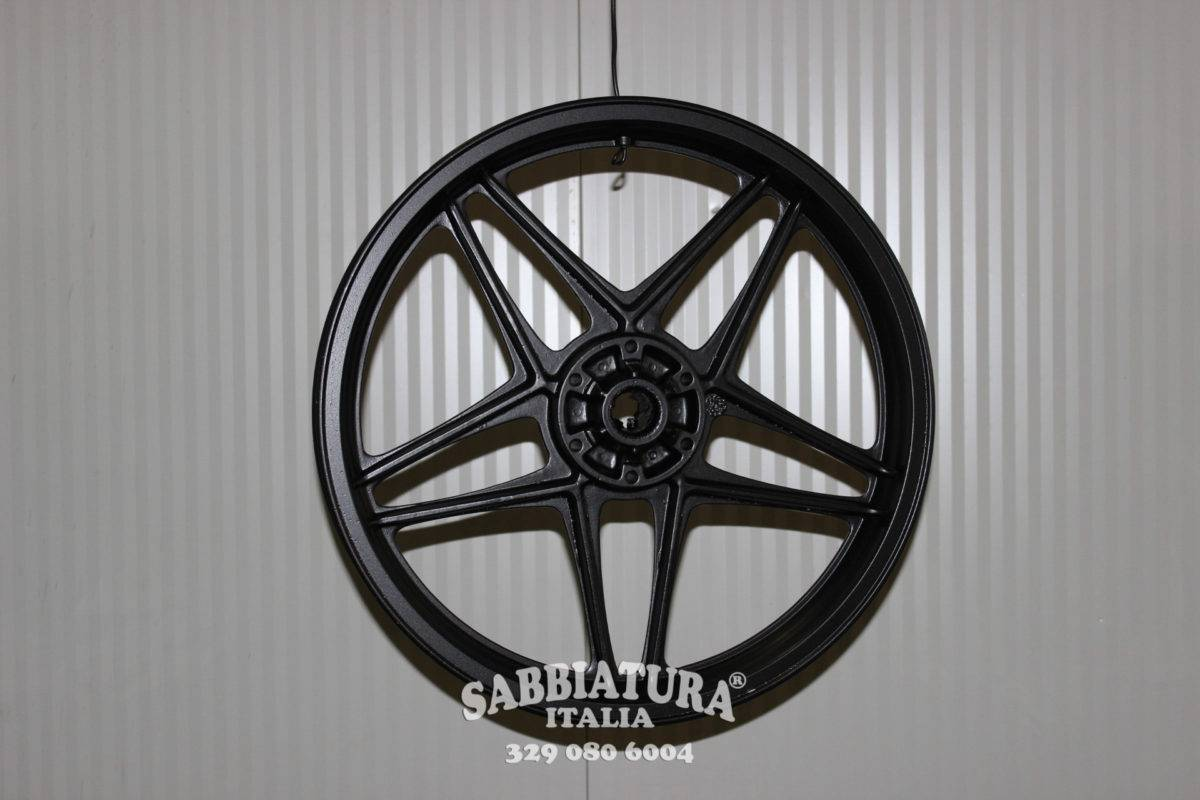 Sabbiatura Cerchioni e Componenti Roma Sabbiatura Italia