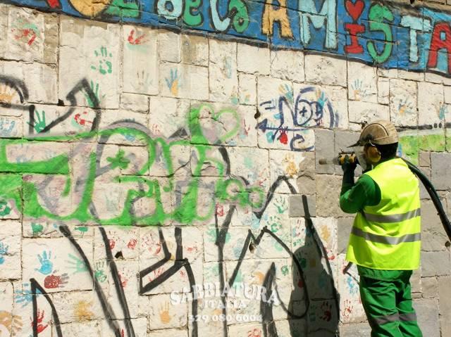 Rimozione Murales Roma Sabbiatura Italia