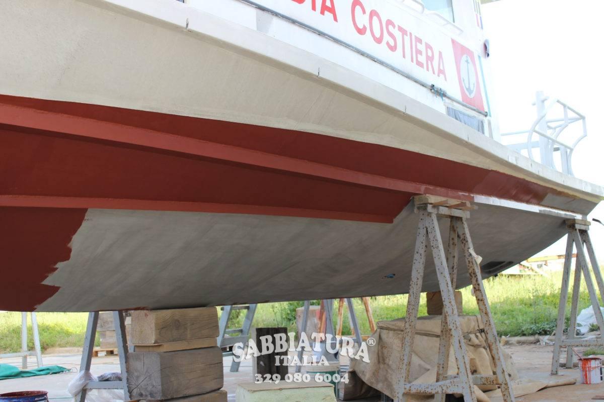 Sabbiatura Navi barche Sabbiatura Italia Roma Viterbo