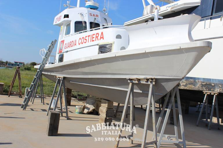 Sabbiatura Navi e Barche Roma Sabbiatura Italia