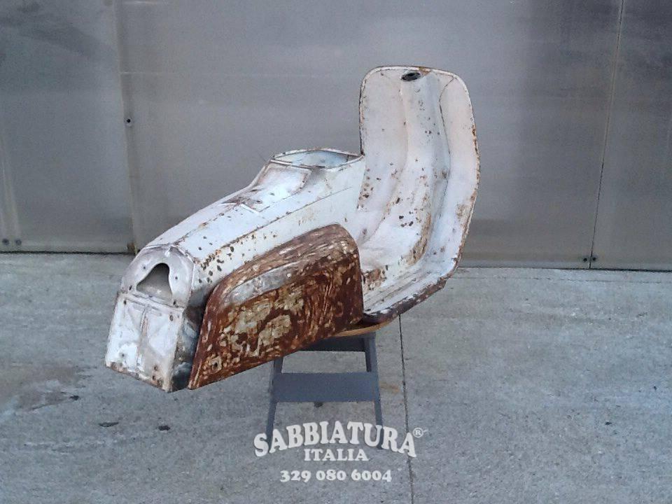 Sabbiatura Moto Roma Sabbiatura Italia